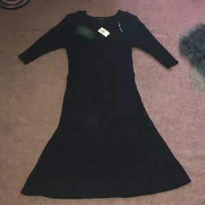 BNWT Ashley Stewart black dress